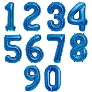 Mėlyni skaičiai